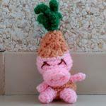 patron gratis cerdo piña amigurumi | free pattern amigurumi pig pineapple