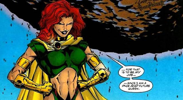 superhero wanita musuh dc maxima