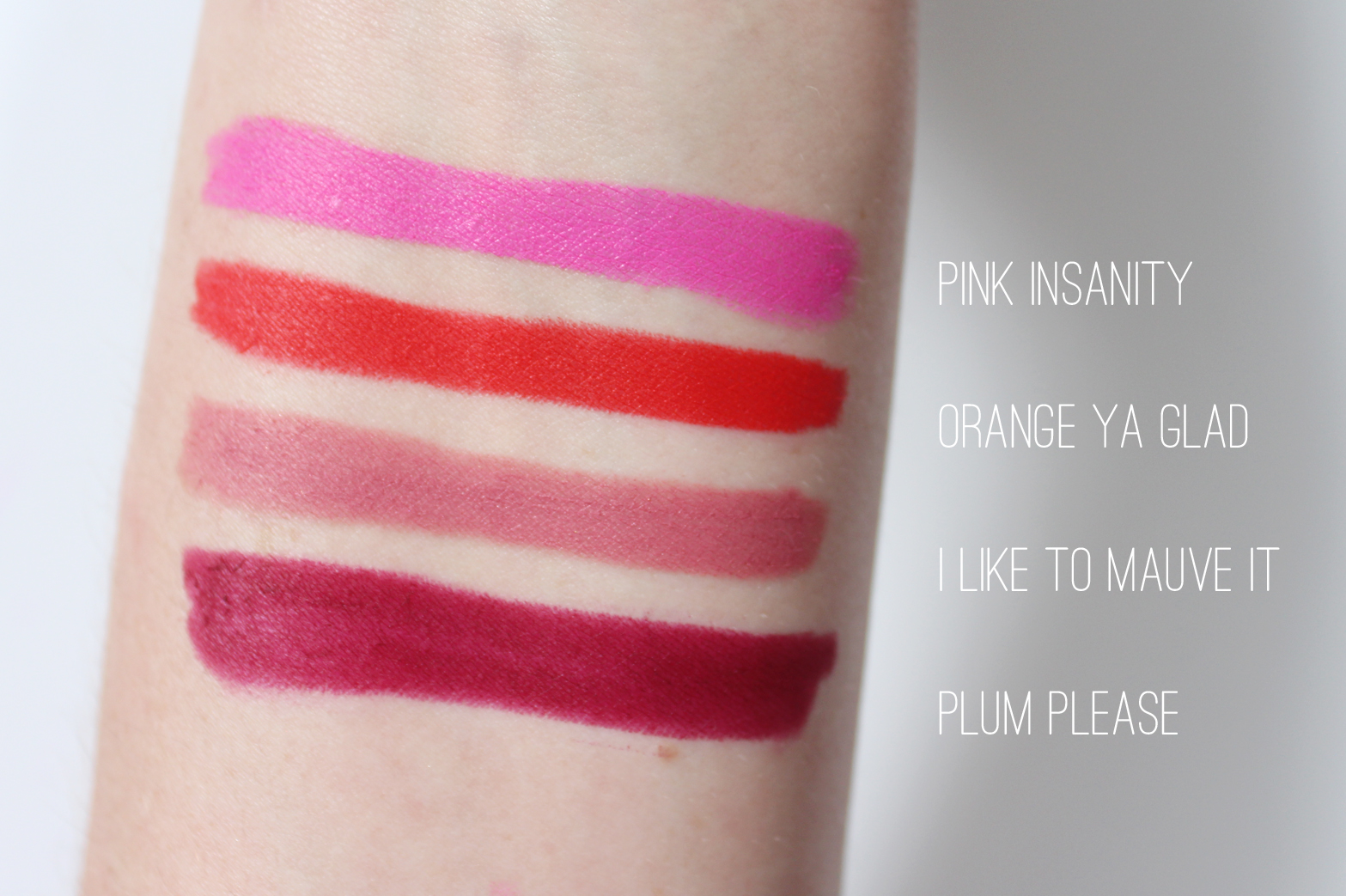 MAYBELLINE | Color Blur by Lip Studio Cream Matte Pencil - Review + Swatches - CassandraMyee