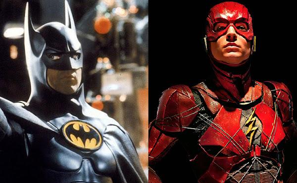 Michael Keaton comenta se ele interpretará o Batman em 'The Flash' de Ezra Miller
