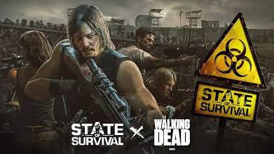 Setelah Berkolaborasi Dengan The Walking Dead kini State of Survival akan berkolaborasi dengan Running man