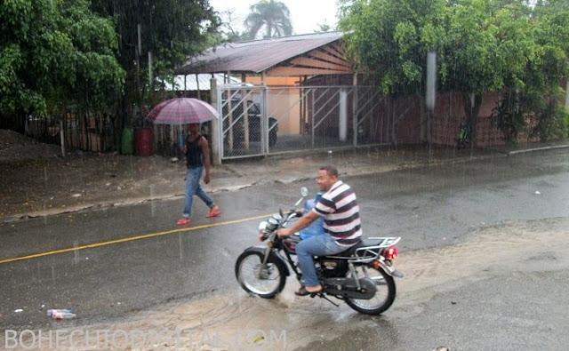 Lluvias continuarán por depresión tropical; 9 provincias en alerta
