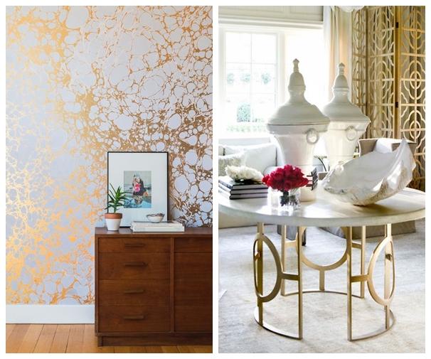 Inspiracje  urządzamy dom, mieszkanie  Blog Oryginalne wnętrza, dużo Skand   -> Kuchnia Prowansalska Miedziane Garnki