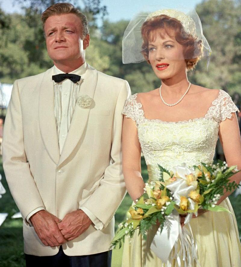 Phyllis Loves Classic Movies Cinema Wedding Gowns The Parent Trap 1961