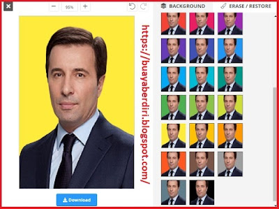 Mengubah background foto menjadi warna Kuning