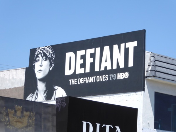 Patti Smith Defiant Ones billboard