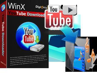 تحميل من يوتيوب WinX YouTube Downloader
