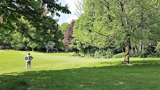Eppendorfer Park im Sommer