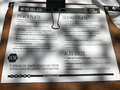 reseña restaurante dando la brasa Miss Pimienta
