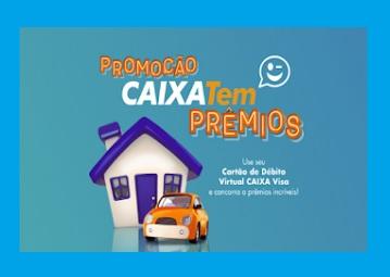 Promoção Caixa Tem Prêmios - Caixa Visa