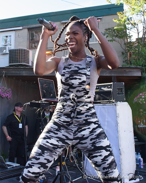 Haviah Mighty at The Royal Mountain Records BBQ at NXNE on June 8, 2019 Photo by John Ordean at One In Ten Words oneintenwords.com toronto indie alternative live music blog concert photography pictures photos nikon d750 camera yyz photographer