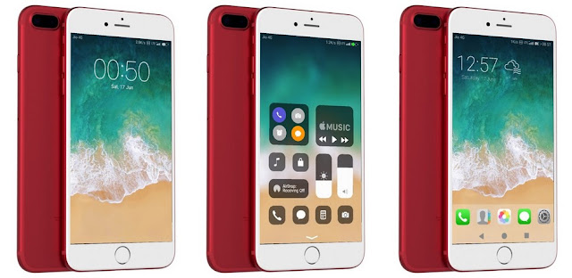 Kumpulan Tema Huawei HWT Keren - iOS 11
