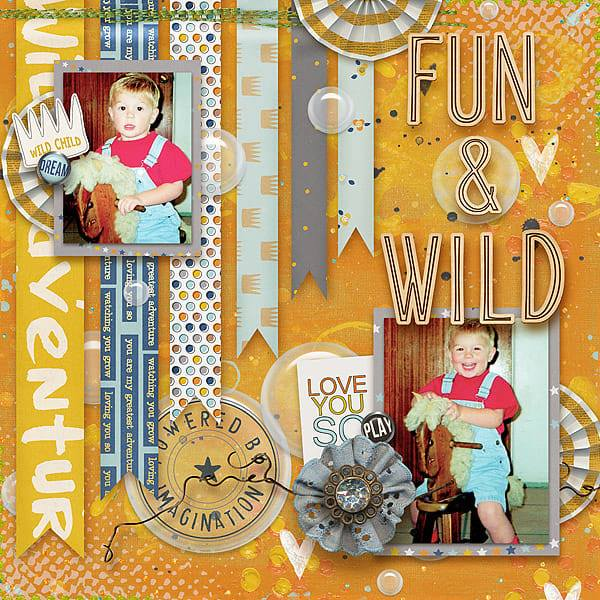 Artsy Fartsy Digital Scrapbooking Templates