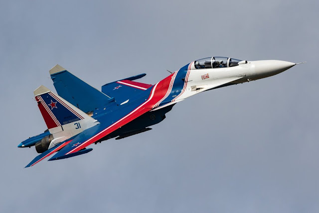 Russian Knights new aircraft Su-35S