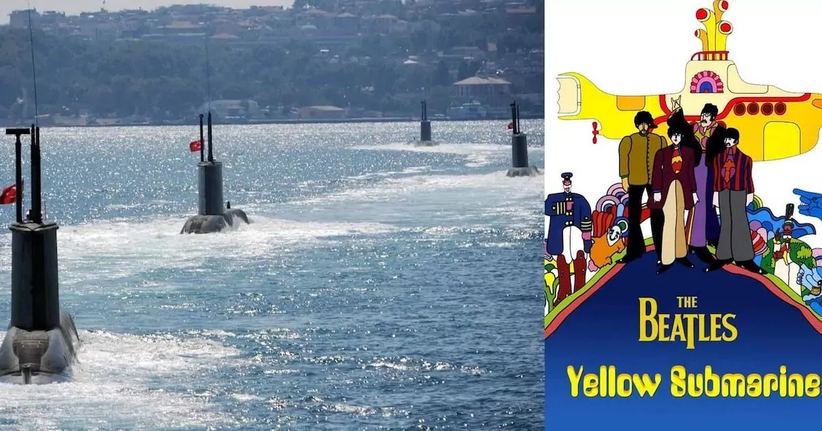 Greek Military Surrounded Turkish Submarines In The Aegean Sea Blaring Them With Ear Piercing Frequencies And Beatles Song