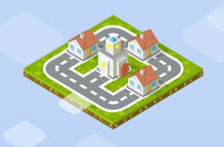 City Connect Puzzle Online Game