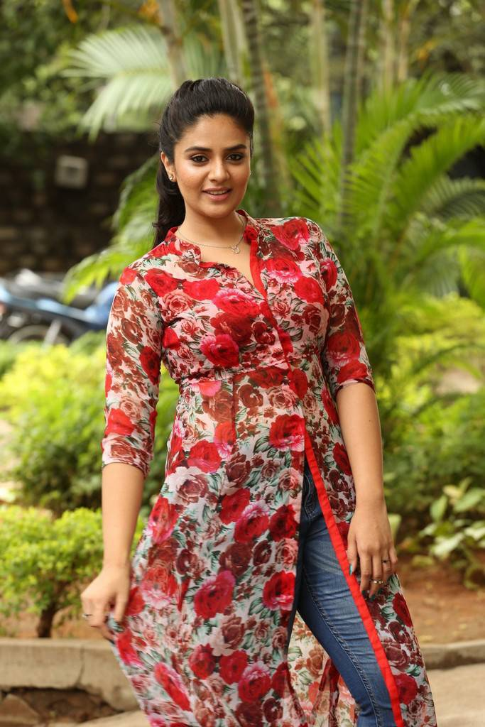 Sreemukhi At Good Bad Ugly Movie First Look Release Press Meet Stills