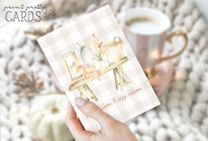 Warm and Cozy Autumn Card