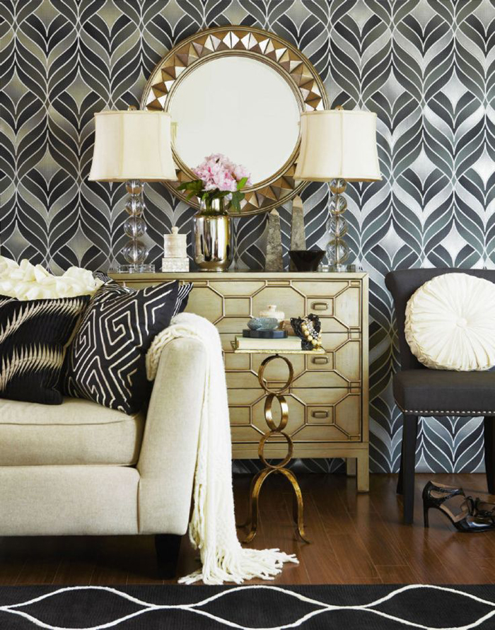 Interior trends for 2016 1930s inspired spaces - Art deco living room ...