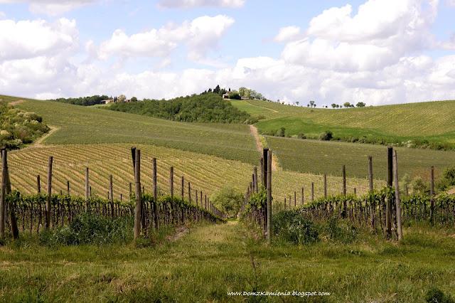 winnice Toskanii, serce Chianti