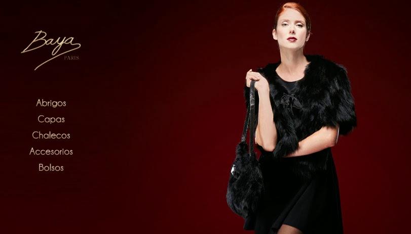 Oferta de prendas de piel de Baya París para mujer
