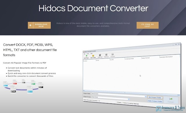 Hidocs Document Converter : un convertisseur de documents multi-formats
