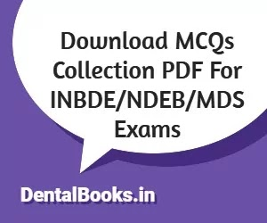 Download MCQs Collections For Dental Exams