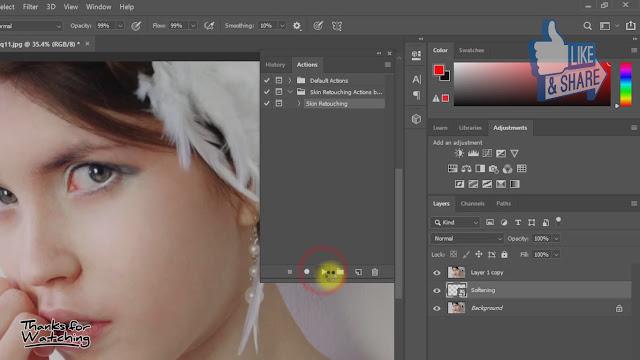 create magic skin retouching actions screenshot 6
