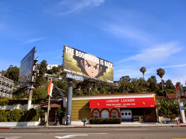 The Boondocks season 4 billboard