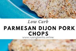 Low Carb Parmesan Dijon Pork Chops