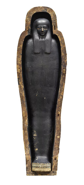 Scientist analyse 'mysterious black goo' used by ancient Egyptians to cover coffins and mummy cases