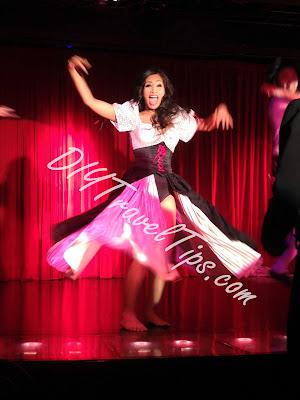 Thai ladyboy dancing