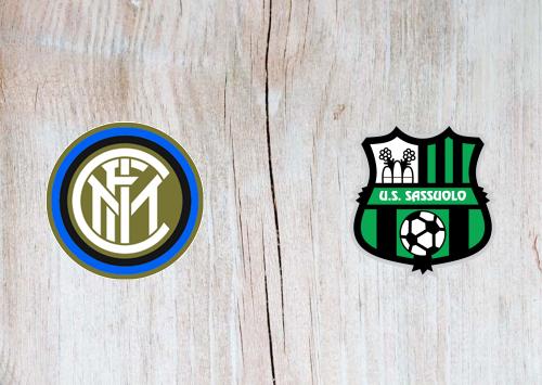 Inter Milan Vs Sassuolo Full Match Highlights 24 June