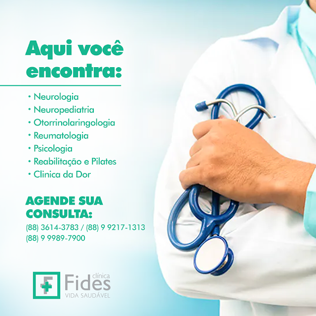 Clínica Fides Cuidando da Sua Saúde para Você Aproveitar o que a Vida Tem de Melhor. (Dr. Alexandre Moura - Reumatologia)