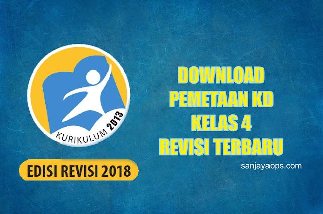 download pemetaan kd k13 kelas 4 pdf tahun 2019/2020