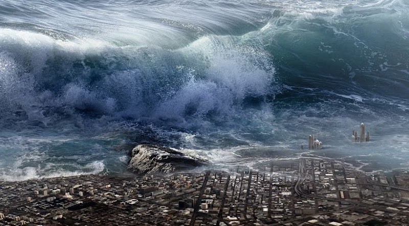Mimpi Tsunami Besar Dipulau Jawa