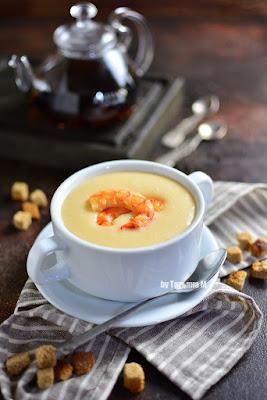 Суп с креветками рецепт