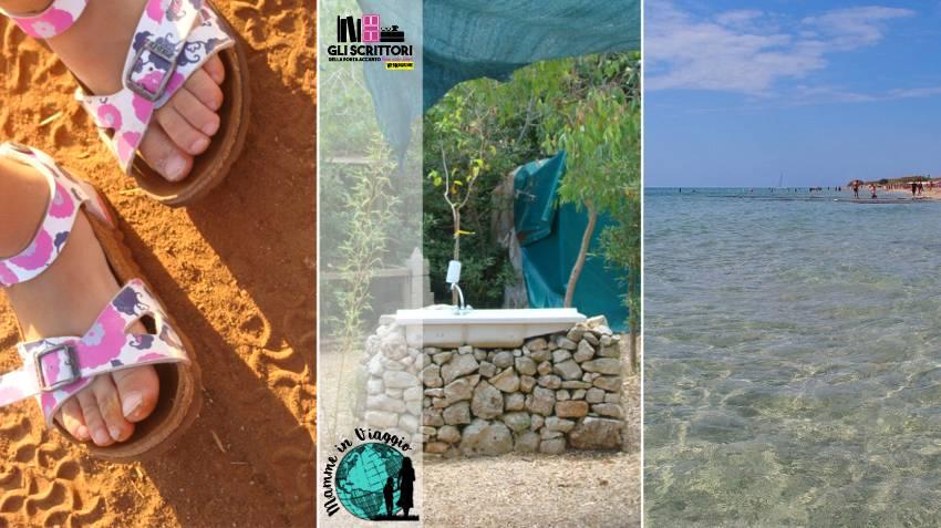 A un paio di chilometri da Lu cannitu c'è il mare, la spiaggia di Pescoluse: le Maldive del Salento.
