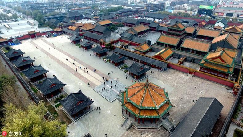 พระราชวังกู้กงเสิ่นหยาง (Shenyang Imperial Palace: 故宫沈阳)