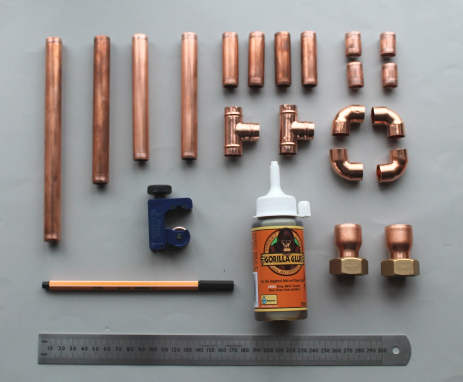 Live it . Love it . Make it.: Make it: Copper Candle Holder