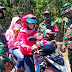 Satgas TMMD Himbau Warga Memakai Masker saat Keluar Rumah