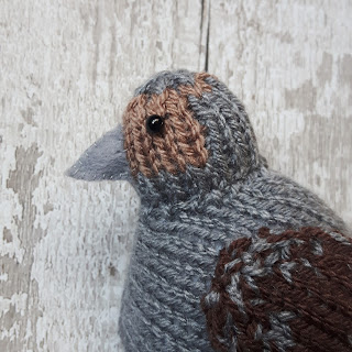 Partridge knitting pattern by Nicky Fijalkowska