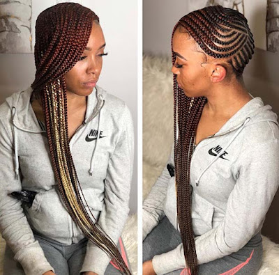 19+ Trendy Lemonade Braids to Stand Out From The Crowd