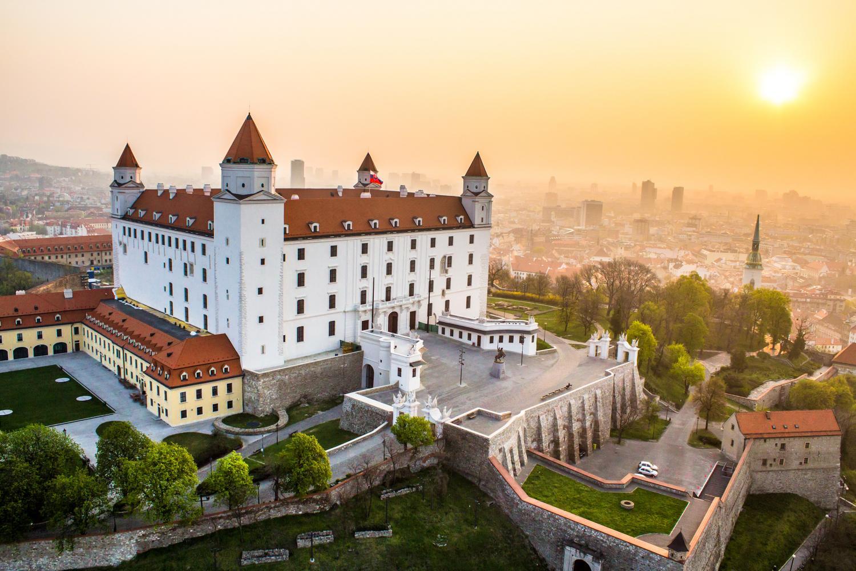 Братислава, Словакия, замок