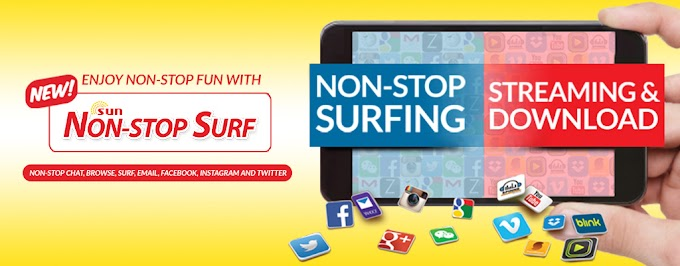 Non-Stop Surf List of Sun Prepaid Promos