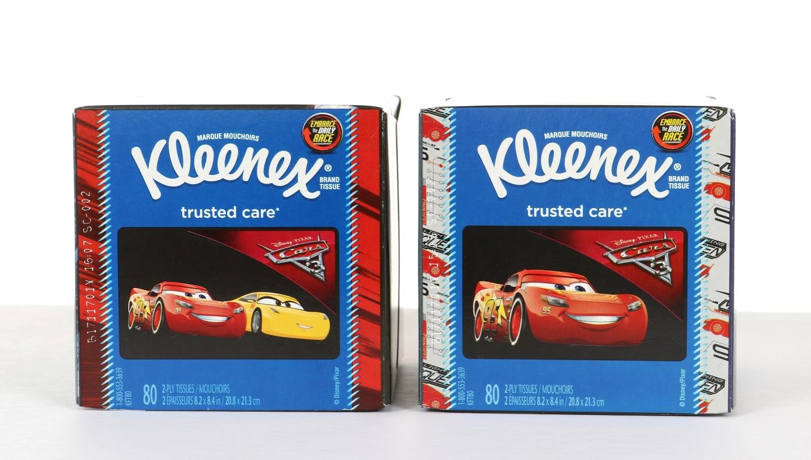 disney pixar cars 3 kleenex tissues