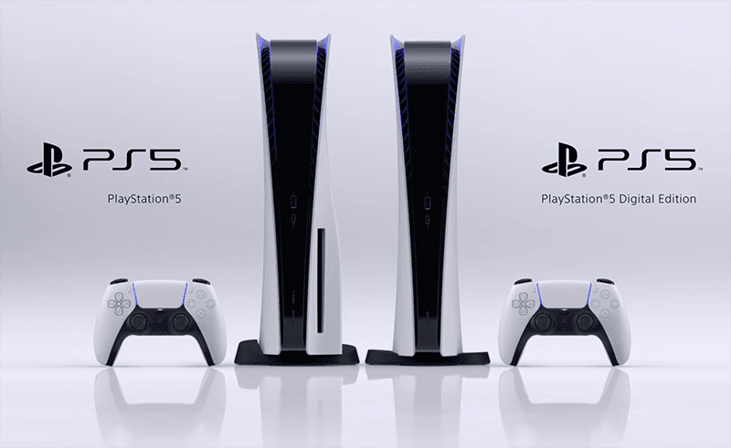 Sony surprises with PS5 digital edition with no Blu-ray disc drive!