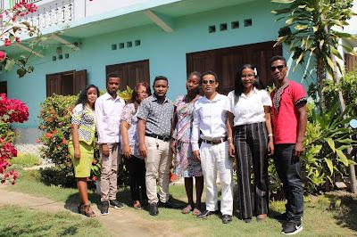 Equipe  de l'ONG ALEFA  Menabe 2020