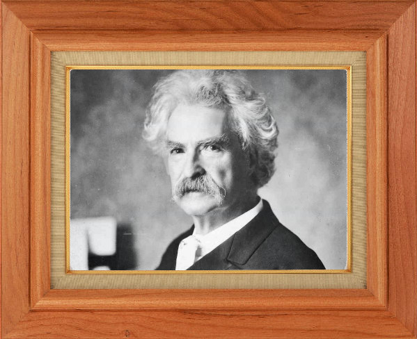 Is Mark Twain a great American author?