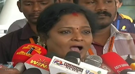 The law-order is not affected by the Ramarajya Rath Yatra in Tamil Nadu: Tamizhisai